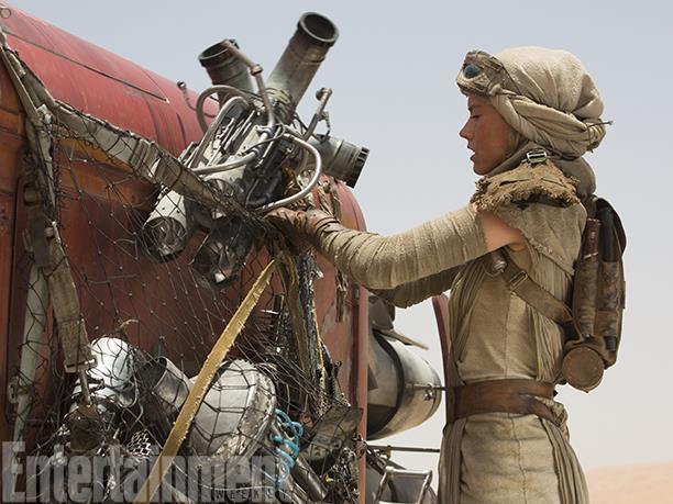 Daisy Ridley in Star Wars 7