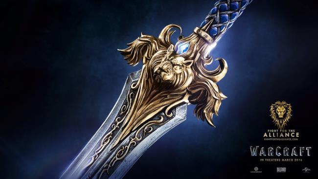 Wallpaper promozionale per Warcraft, in uscita nel 2016