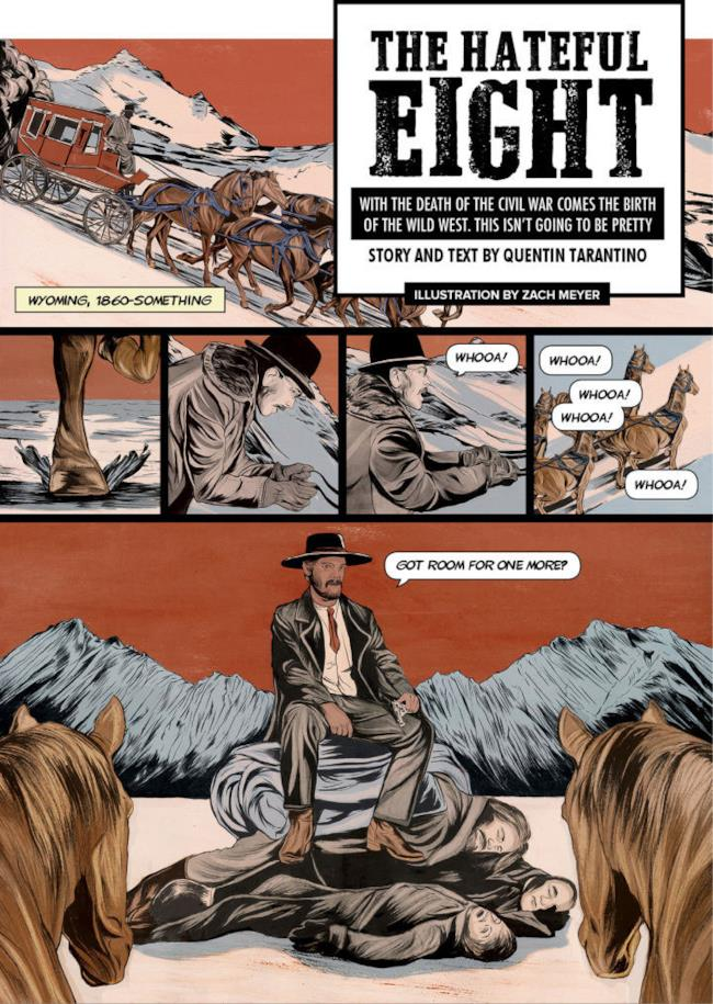 Il fumetto di The Hateful Eight