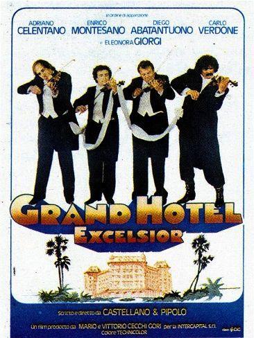 La locandina di Grand Hotel Excelsior