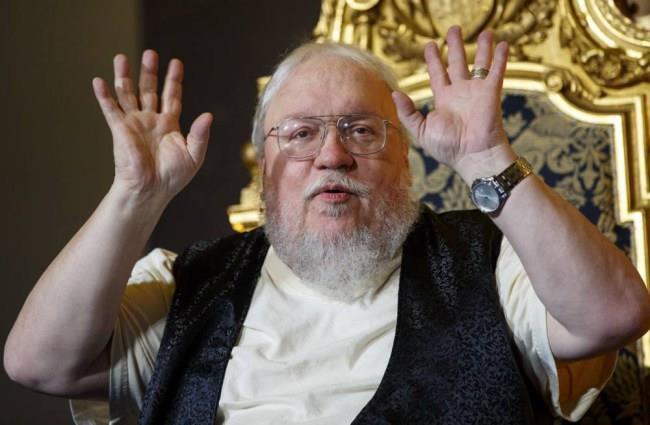 George R.R. Martin, autore dei libri di Game of Thrones