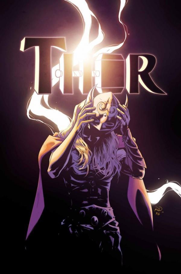 In Thor #8 è svelata l'identità della dea del tuono