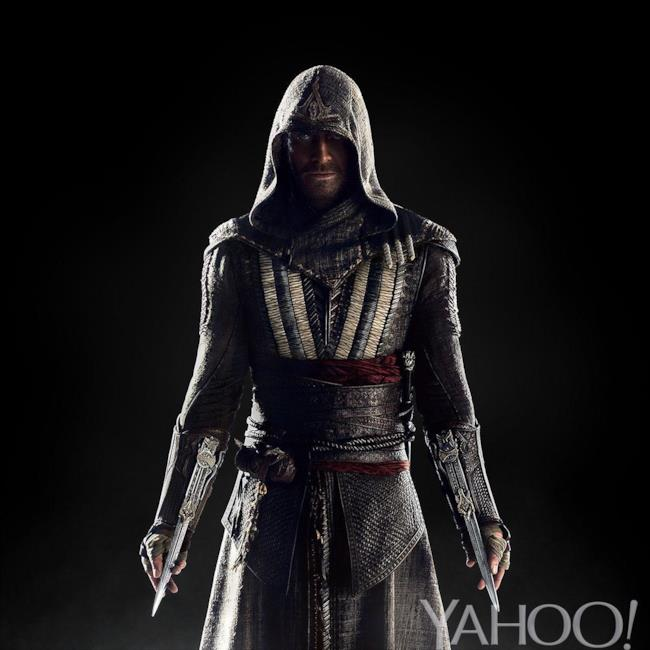 Prima immagine di Aguilar (Michael Fassbender) in Assassin's Creed