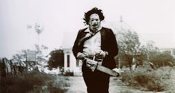Il protagonista del film splatter the texas chainsaw massacre