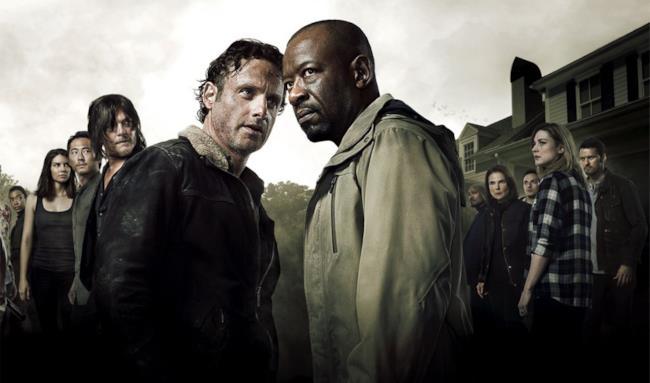 Il cast della sesta stagione di The Walking Dead