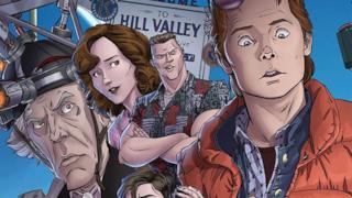 Il fumetto di Ritorno al Futuro è pubblicato da IDW