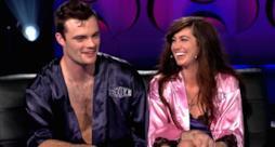 Due concorrenti del reality Sex Box