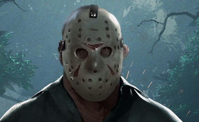 Jason nella copertina del gioco di Venerdì 13