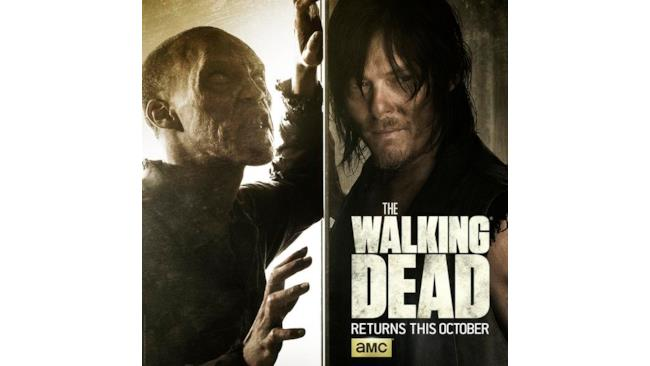 Poster di The Walking Dead con Daryl