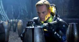 Michael Fassbender nel primo Promethesus; tornerà anche per il sequel