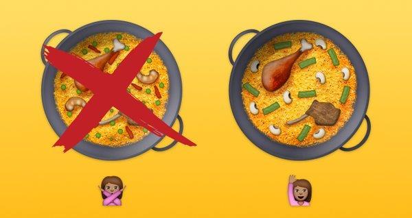 Emoji della ricetta classica di Valencia