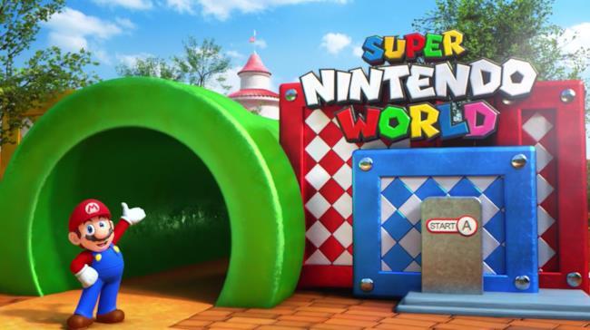 L'entrata di Super Nintendo World