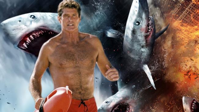 David Hasselhoff e Sharknado