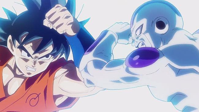 Freezer contro Goku