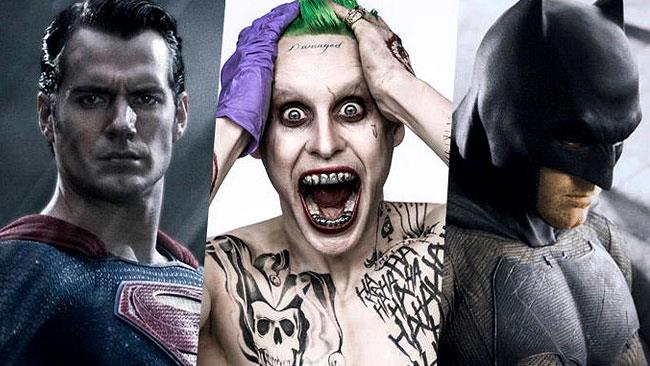 Batman, Superman e il Joker dell'universo cinematografico DC