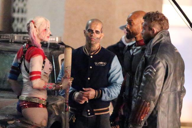 Task Force X sul set di Suicide Squad