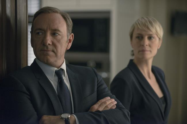 Frank e Carrie Underwood in House of Cards