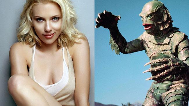 Il Mostro della Laguna Nera e Scarlett Johansson