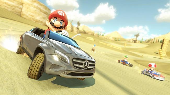 Super Mario e Mercedes insieme dal 27 agosto 2014