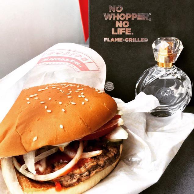 Il profumo di Burger King non è un pesce d'aprile