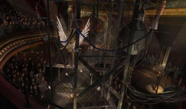 Una concept art per X-Men Apocalypse con il mutante Angel