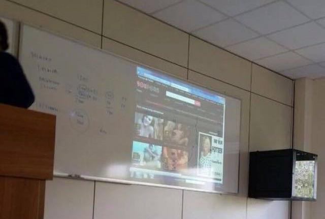 YouPorn proiettato all'università di Roma