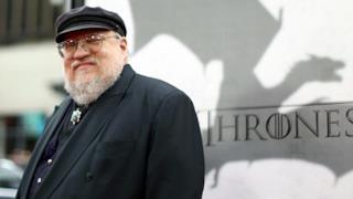 George R.R. Martin, lo scrittore della saga letteraria da cui è tratta la serie TV Game of Thrones