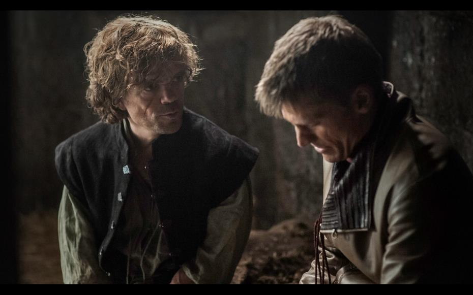 I personaggi Tyrion e Jaime Lannister di Game of Thrones