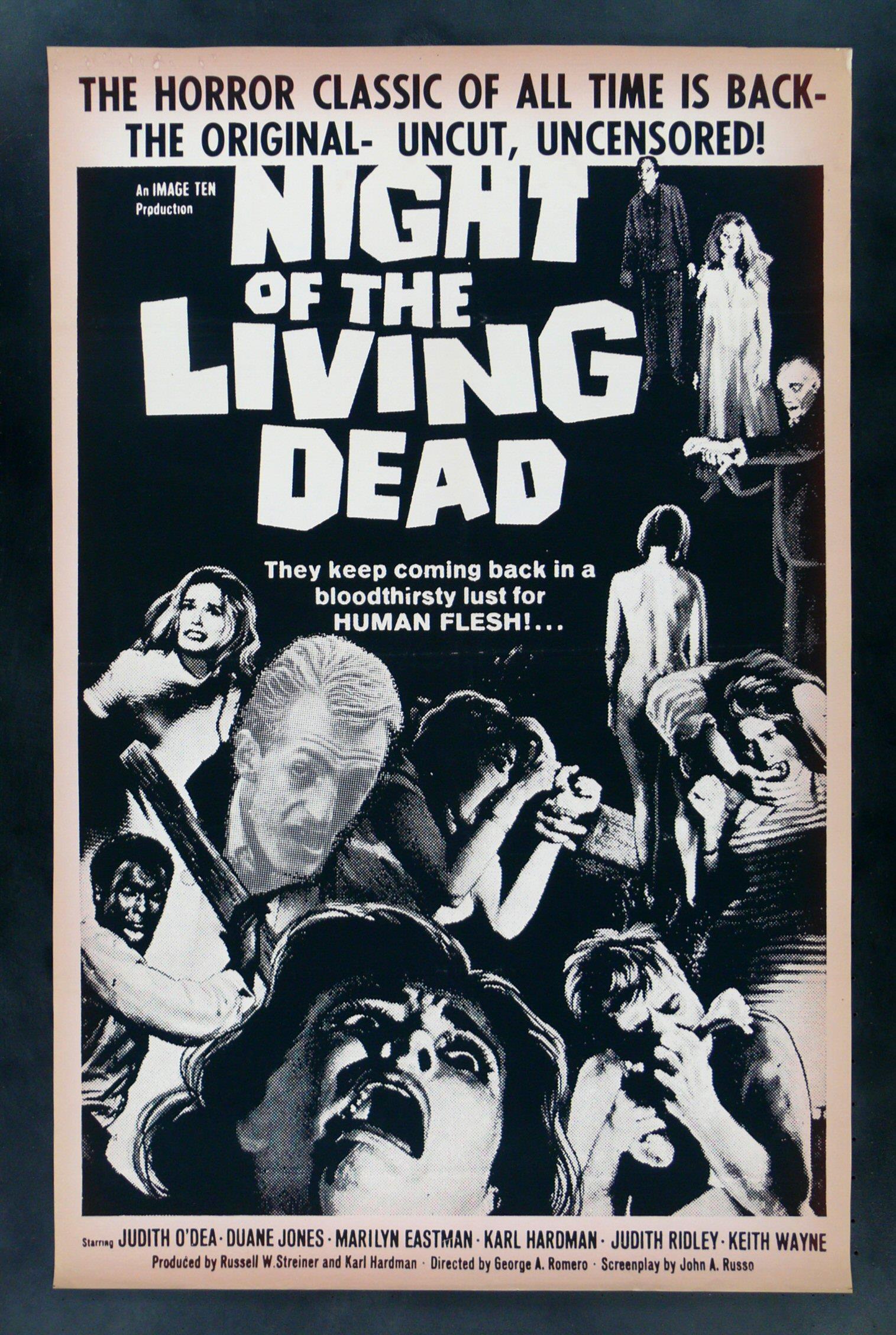 Poster originale del film Night of the Living Dead