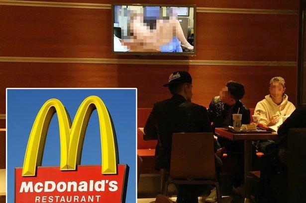 Video hard mostrati in un McDonald's svizzero