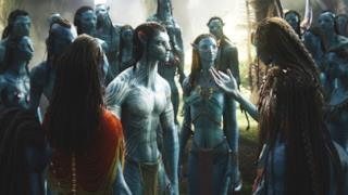 Scena di Avatar di James Cameron