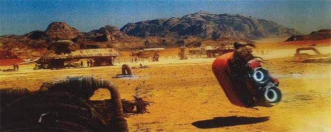 Concept di alcuni veicoli su Tatooine