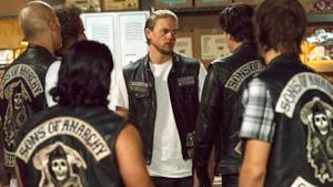 Una scena dell'originale Sons of Anarchy, che avrà un prequel