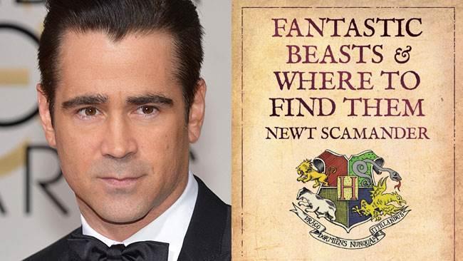 Colin Farrell reciterà ne Gli Animali Fantastici: Dove Trovarli