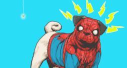I supereroi Marvel sono dei cani in queste simpatiche illustrazioni