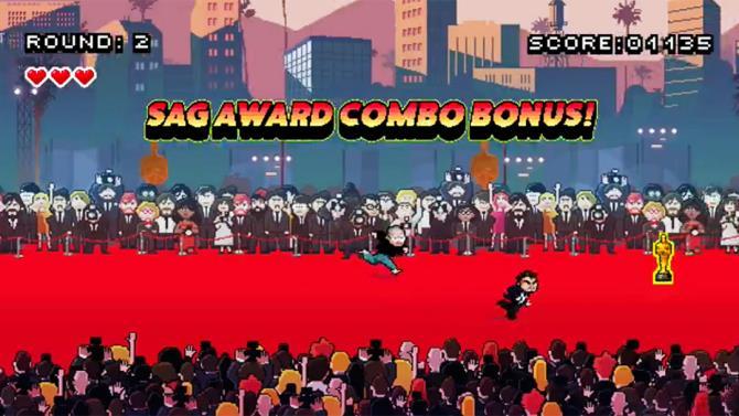 Leo's Red Carpet Rampage: Leo insegue la statuetta sul red carpet
