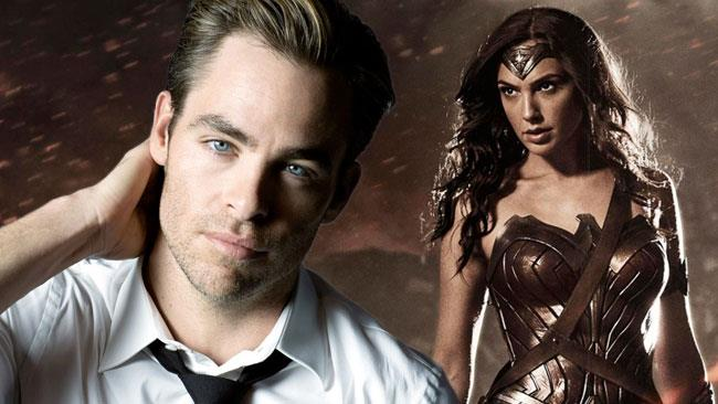 Chris Pine sarà nel film di Wonder Woman