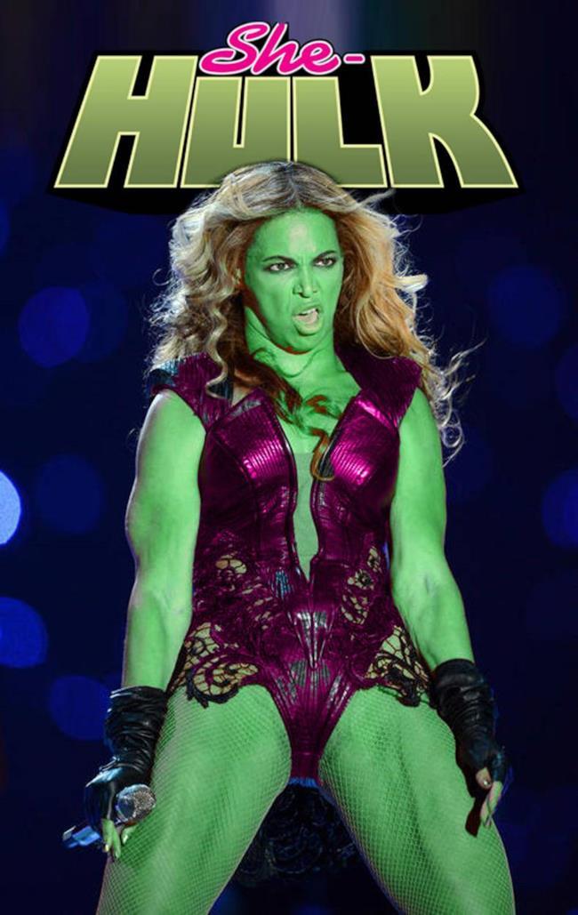 Il meme di Beyoncé She-Hulk del 2014