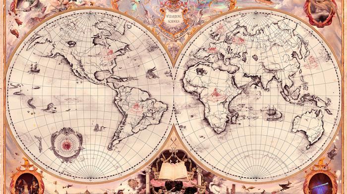 Le sette scuole di magia e la loro ubicazione nel mondo