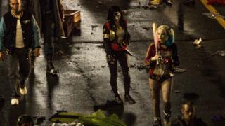 Katana appare la prima volta sul set di Suicide Squad