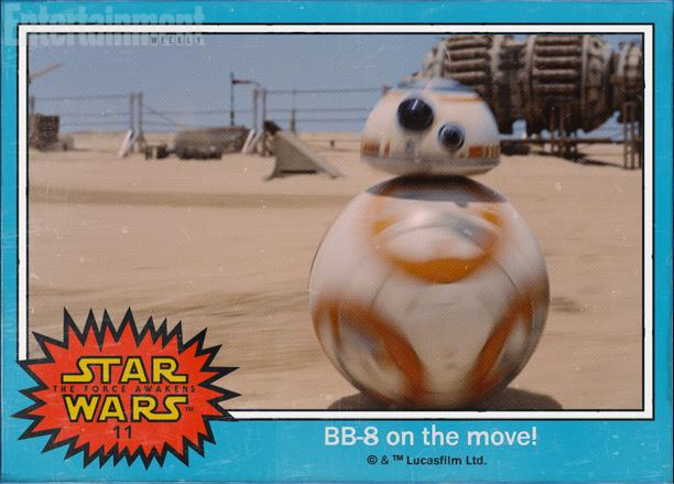 Il droide BB 8 in Star Wars 7