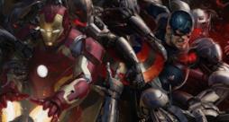 Iron Man e Capitan America in una concept art di Avengers: Age of Ultron