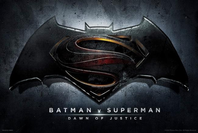 Batman V Superman logo ufficiale