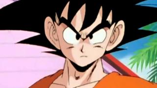 Son Goku in una delle prime scene di Dragon Ball Z