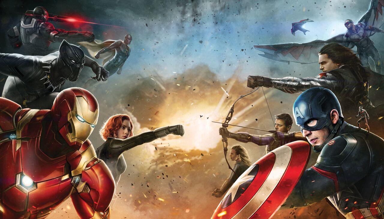 Capitan America: Civil War - ecco i team che si affronteranno
