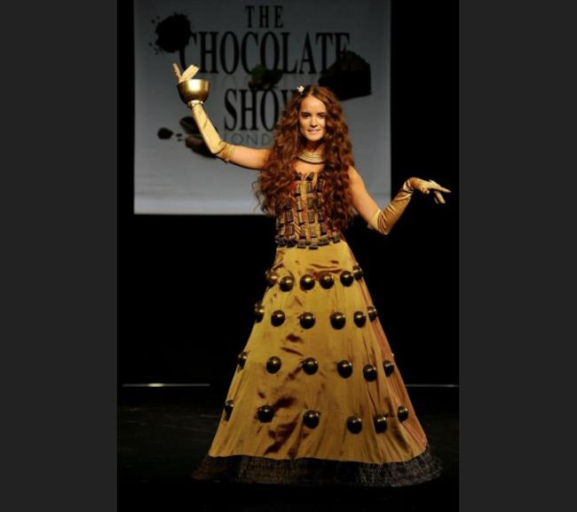 Sfilata al Chocolate Fashion Show Londra 2015