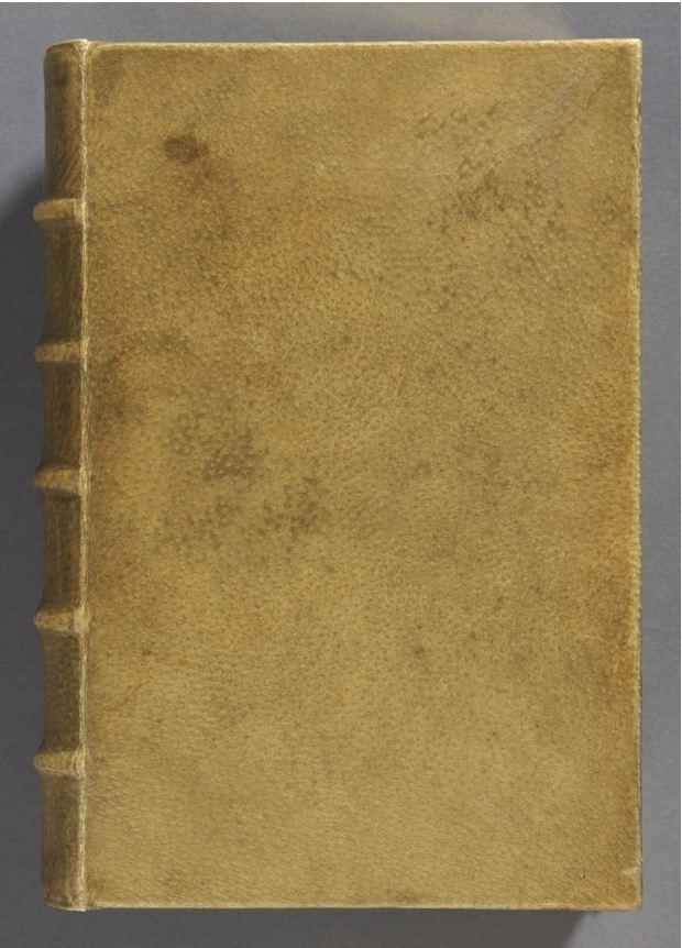 Il libro con la copertina di pelle umana