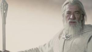 Ian McKellen è Gandalf il Bianco