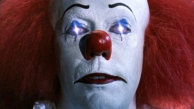 Pennywise nel film di IT
