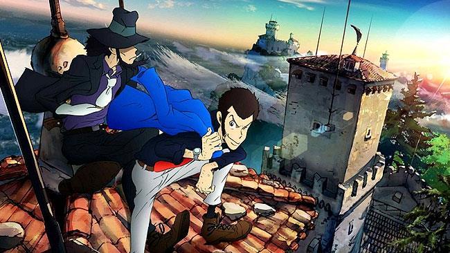 Lupin nella nuova serie anime